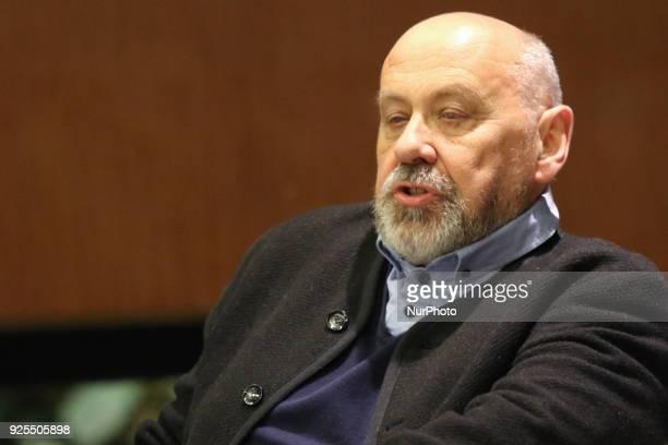 Polish journalist former correspondent of Gazeta Wyborcza in Russia expelled from Russian Federation in Dec 2015 Waclaw Radziwinowicz is seen in...