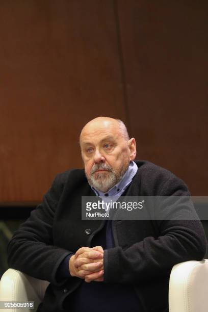 Polish journalist former correspondent of Gazeta Wyborcza in Russia expelled from Russian Federation in Dec 2015 Waclaw Radziwinowicz is seen in...