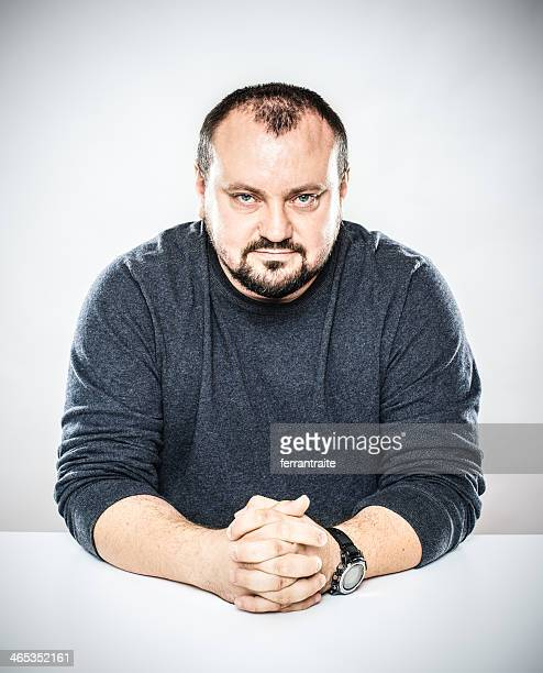 polish man desk portrait - eastern european stock pictures, royalty-free photos & images