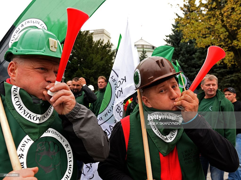 POLAND-ECONOMY-MINERS : News Photo