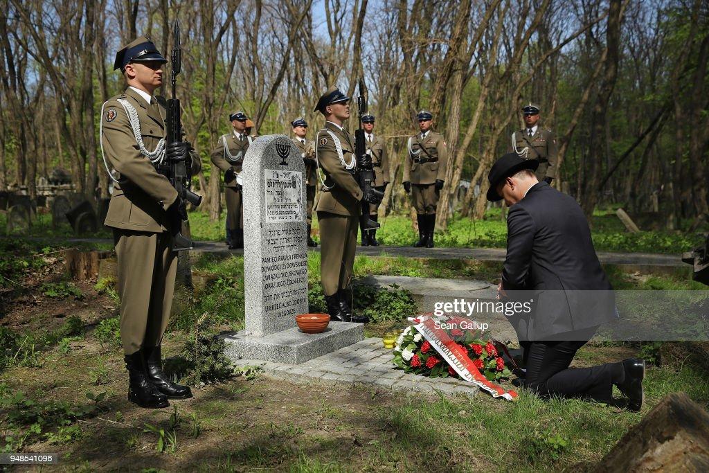 Poland Commemorates Warsaw Ghetto Uprising 75th Anniversary