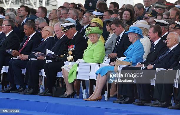 Polish President Bronislaw Komorowski, U.S. President Barack Obama, Italian President Giorgio Napolitano, President of Slovakia Ivan Gasparovic, King...
