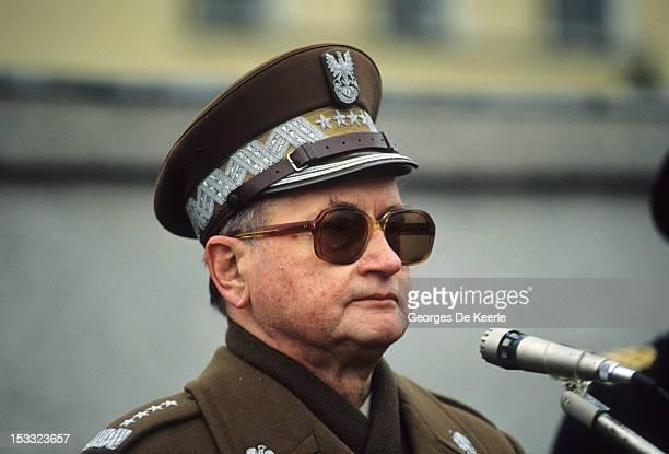 Polish President General Wojciech Jaruzelski in Poland 6th December 1990