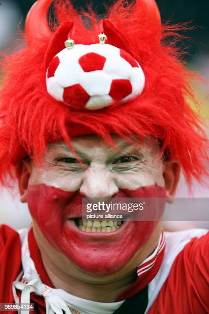 A Polish supporter prior to the group A match of 2006 FIFA World Cup between Germany and Poland in Dortmund on Wednesday 14 June 2006 DPA/MICHAEL...