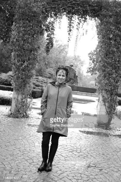 Polish writer Olga Tokarczuk winner of the Literature Nobel prize 2018 in Wroclaw Poland 27th September 2013