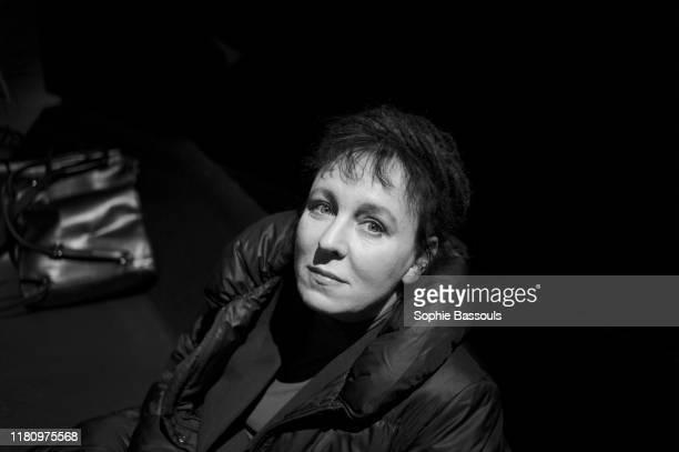 Polish writer Olga Tokarczuk winner of the Literature Nobel prize 2018 in Saint Nazaire 19th November 2016