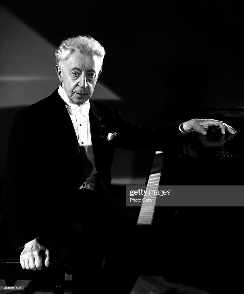Polish-American classical pianist Arthur Rubinstein, Montreal, Canada, 1967.