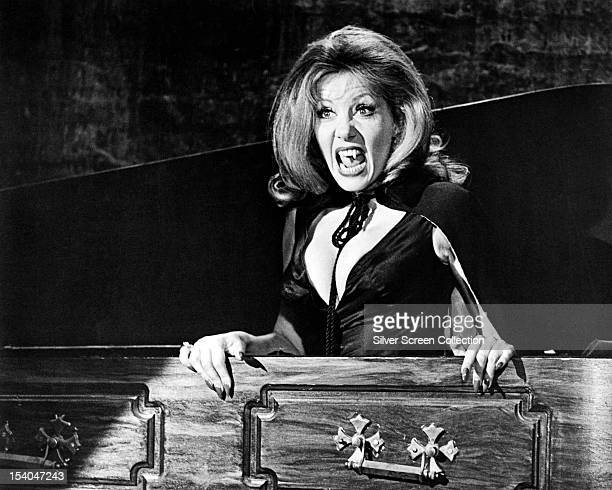 Polishborn actress Ingrid Pitt as Carla Lind in 'The House That Dripped Blood' directed by Peter Duffell 1970