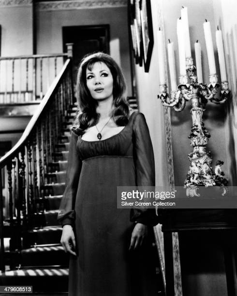 Polishborn actress Ingrid Pitt as Marcilla/Carmilla/Mircalla Karnstein in 'The Vampire Lovers' directed by Roy Ward Baker 1970