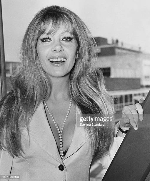 Polishborn actress Ingrid Pitt at London Airport March 1973 She made a name for herself in the horror films of the 1960s and 1970s