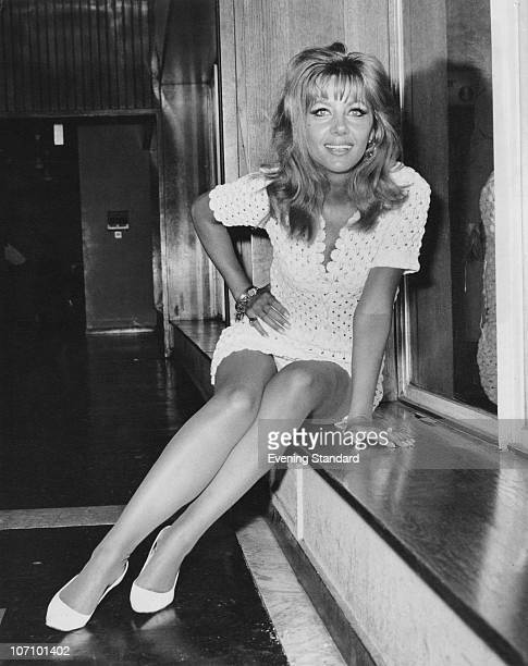 Polishborn actress Ingrid Pitt poses at London Airport July 1968 She made a name for herself in the horror films of the 1960s and 1970s