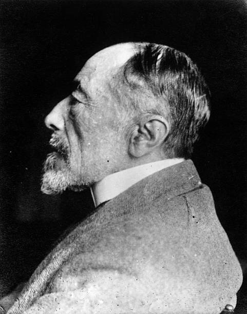 Polish-born British mariner and novelist Joseph Conrad...