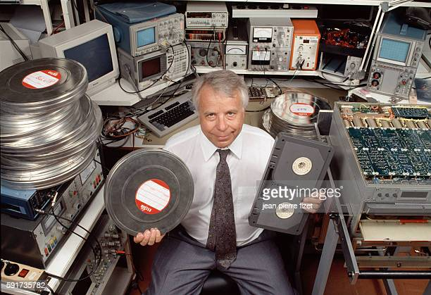Polishborn engineer Stefan Kudelski and the digital recording system he developed to save old films