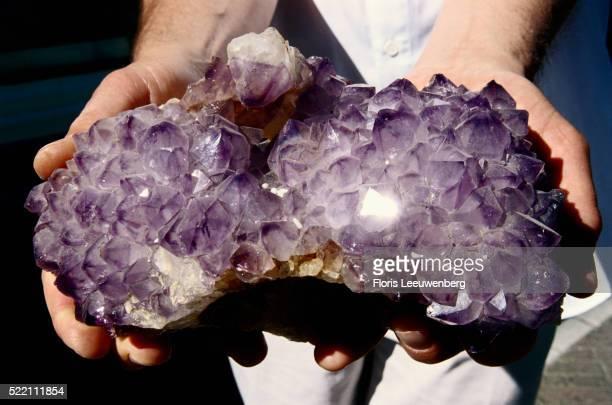 Polished Amethyst Rock