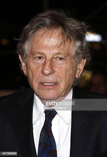 PolishFrench director Roman Polanski arrives to attend a screening of the film 'Weekend of a Champion' written and directed by Frank Simon in Monaco...