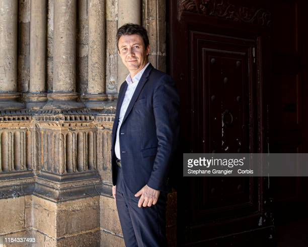 Politic Benjamin Griveaux poses during a photoshoot on May 15 2019 in Paris France