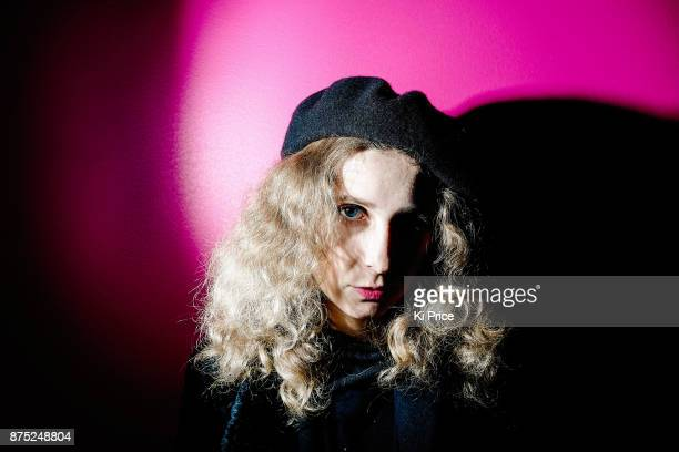 Political activist and member of punk band Pussy Riot Maria Alyokhina is photographed on November 15 2017 in London England