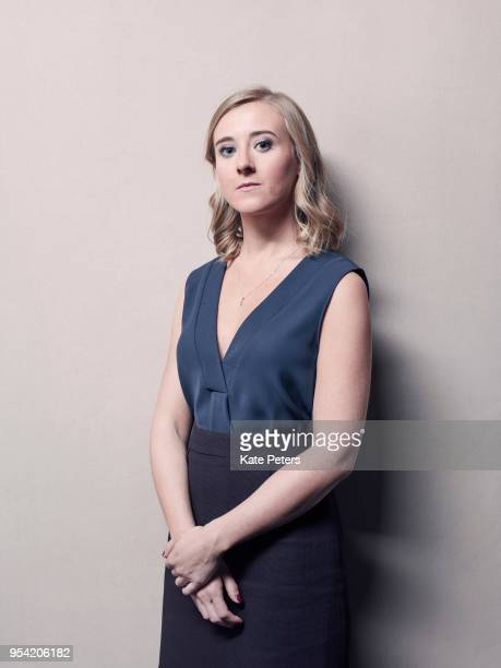 Political activist Bex Bailey are photographed for Time magazine on October 12 2017 in London England