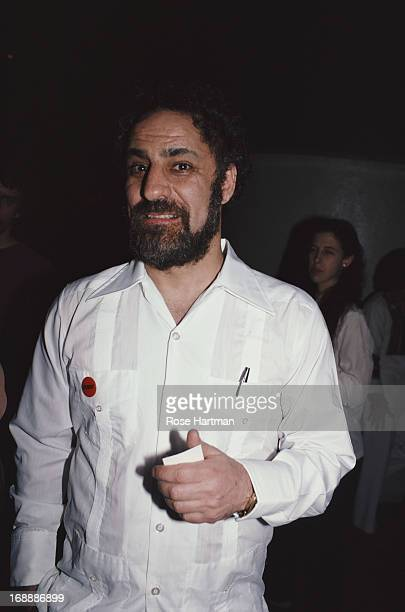 Political and social activist Abbie Hoffman April 1982