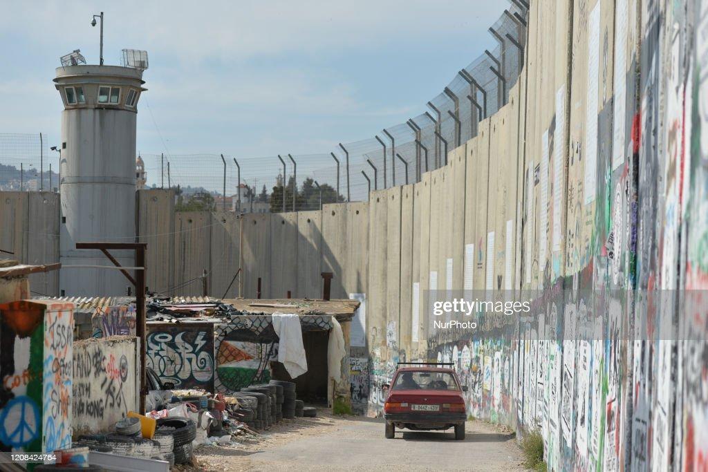 Murals In Bethlehem : News Photo