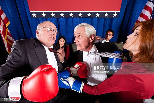 Political Boxing Match