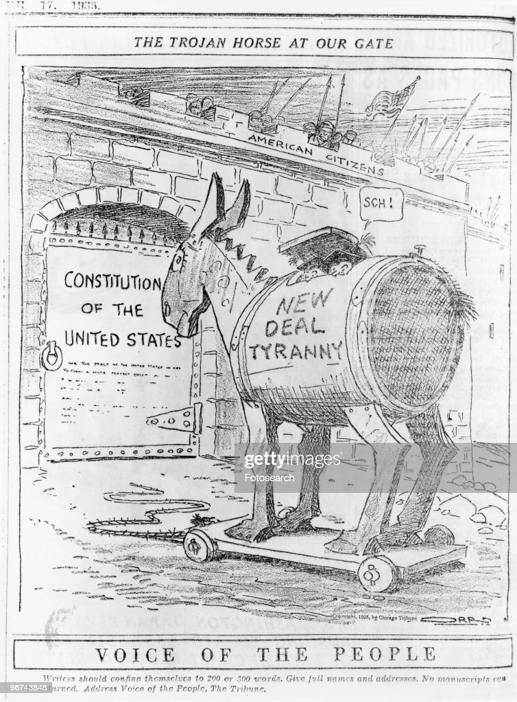 The Trojan Horse At Our Gate : News Photo