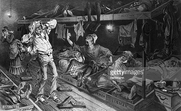 Uncle Sam Political Cartoon Stock Photos And Pictures