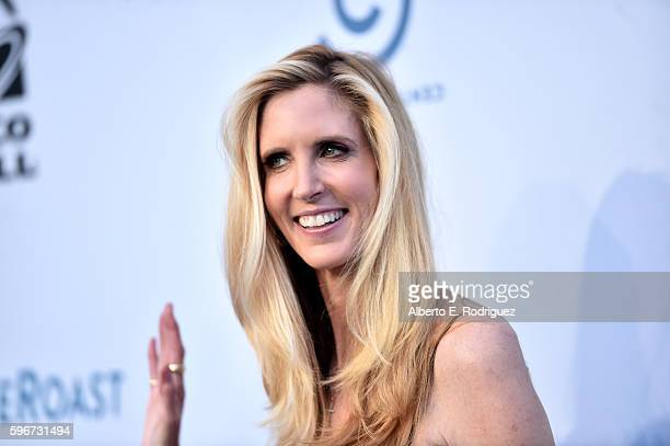 Political commentator and author Ann Coulter attends The Comedy Central Roast of Rob Lowe at Sony Studios on August 27 2016 in Los Angeles California