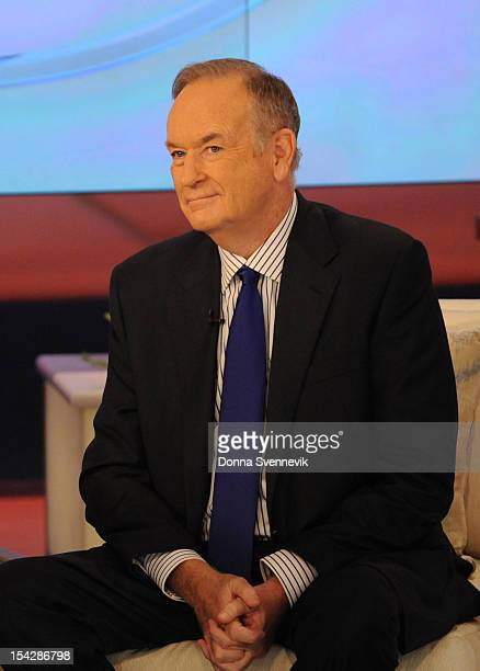 Political commentator and author Bill O'Reilly visits KATIE, 10/17/12, distributed by Disney-Walt Disney Television via Getty Images Domestic...
