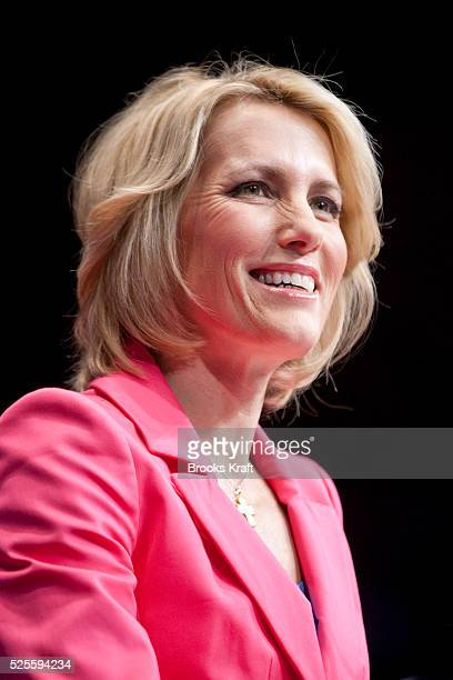 Political commentator and author Laura Ingraham addresses the American Conservative Union's annual Conservative Political Action Conference in...