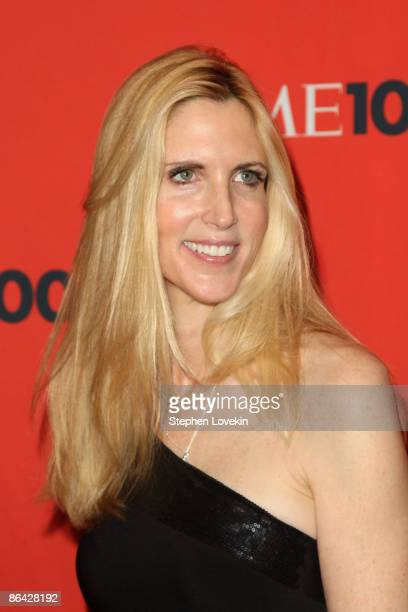 Political commentator Ann Coulter attends Time's 100 Most Influential People in the World Gala at the Frederick P Rose Hall at Jazz at Lincoln Center...