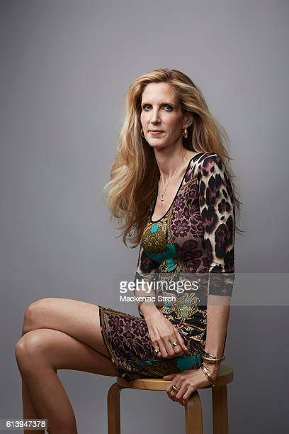 Political commentator Ann Coulter is photographed for The Times Magazine UK on August 2 2016 in New York City