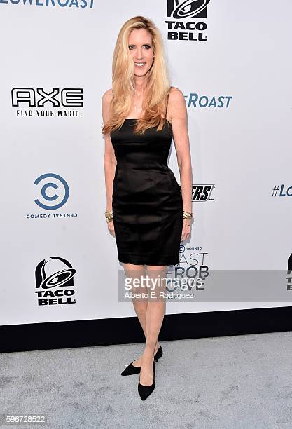 Political commentator author Ann Coulter attends The Comedy Central Roast of Rob Lowe at Sony Studios on August 27 2016 in Los Angeles California