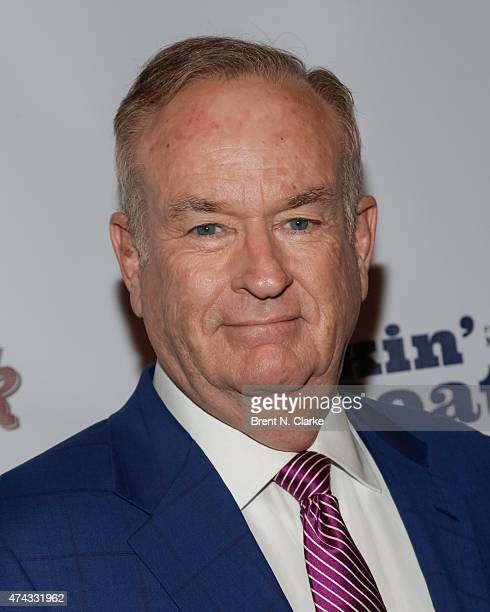 Political commentator Bill O'Reilly arrives for the Rock The Boat Fleet Week Kickoff Concert held at Hard Rock Cafe Times Square on May 21 2015 in...