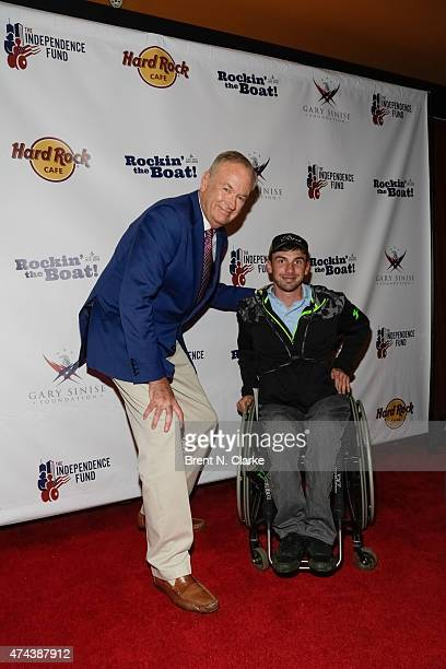 Political commentator Bill O'Reilly attends the Rock The Boat Fleet Week Kickoff Concert held at Hard Rock Cafe, Times Square on May 21, 2015 in New...