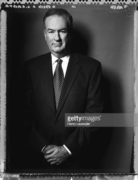 Political commentator Bill O'Reilly photographed for a March 2003 Vanity Fair Magazine in New York City.