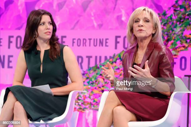 Political Commentator Mary Katharine Ham and NBC News Cheif Foreign Affairs Correspondent Andrea Mitchell speak onstage at the Fortune Most Powerful...