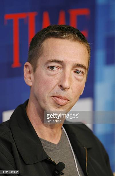 Political Commentator Ron Reagan Jr speaks during CNN's Media Conference For The Election of the President 2008 at the Time Warner Center on October...