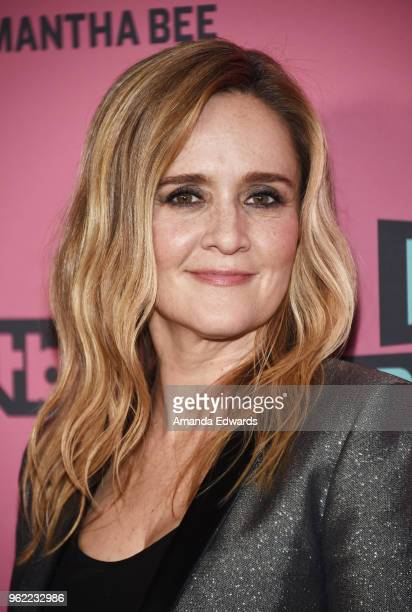 Political commentator Samantha Bee arrives at TBS' Full Frontal With Samantha Bee FYC Event at the Writers Guild Theater on May 24 2018 in Beverly...
