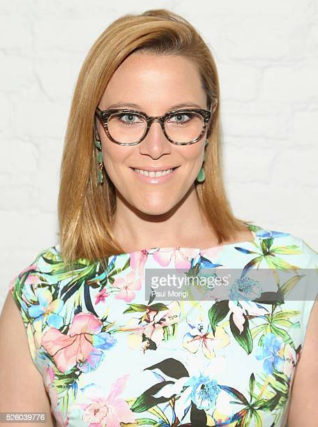 Political commentator SE Cupp attends the Glamour and Facebook brunch to discuss sexism in 2016 during WHCD Weekend at Kinship on April 29 2016 in...