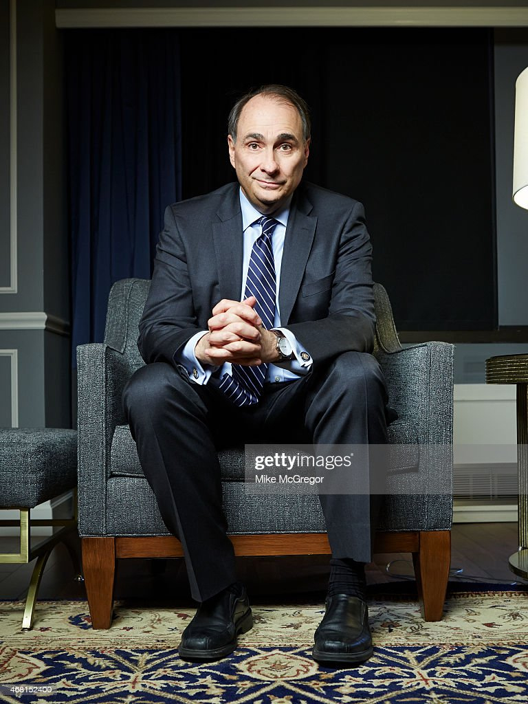 Political consultant David Axelrod is photographed for The Guardian Magazine on February 9, 2015 in New York City.