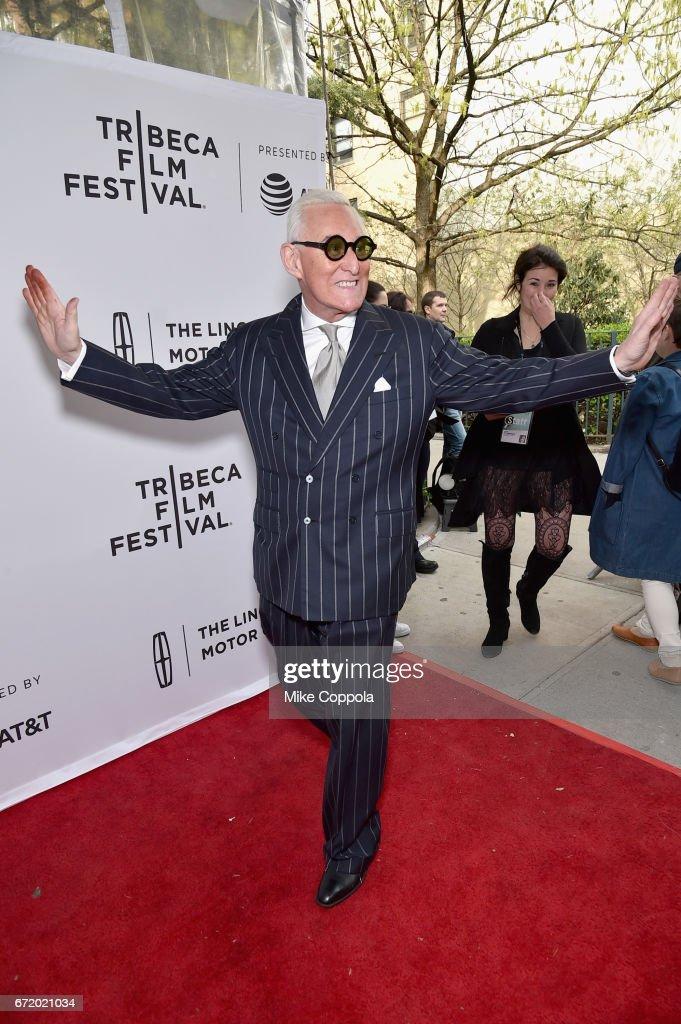 """Get Me Roger Stone"" Premiere - 2017 Tribeca Film Festival"