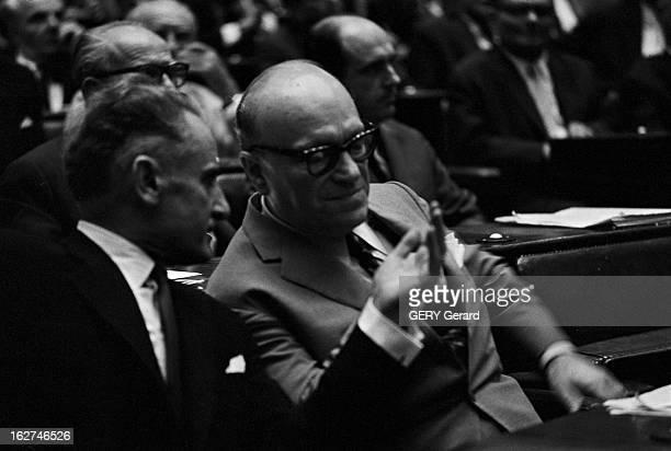 The Parliament A Athènes en juillet 1965 Réunion du parlement grec lors de la crise politique qui secoue le pays avec la destitution de Georges...