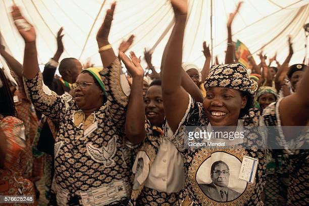Political Delegates Singing in Zimbabwe