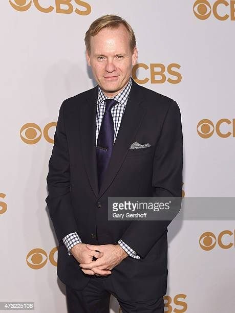 Political director for CBS News John Dickerson attends the 2015 CBS Upfront at The Tent at Lincoln Center on May 13 2015 in New York City