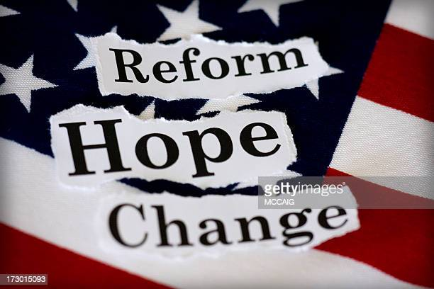 politische hope - reform stock-fotos und bilder