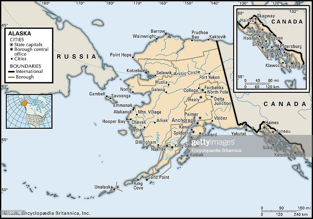 Political Map Of Alaska.Political Map Of Alaska Political Map Of The State Of Alaska News