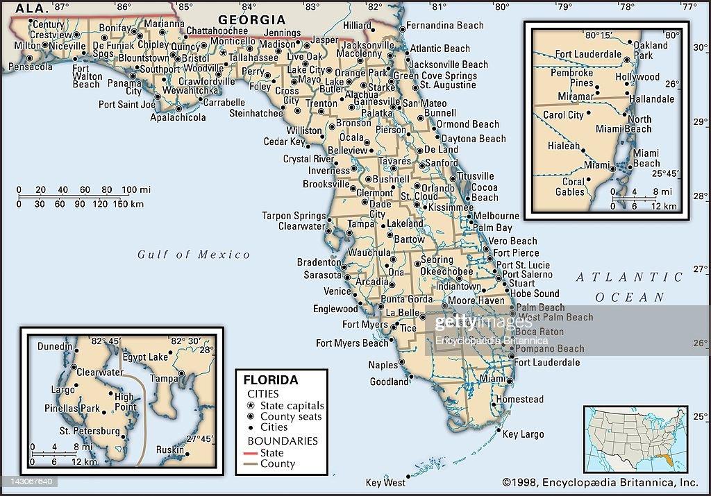 Florida Political Map.Political Map Of Florida Political Map Of The State Of Florida