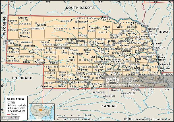 the map of nebraska 57 Nebraska Map Photos And Premium High Res Pictures Getty Images the map of nebraska