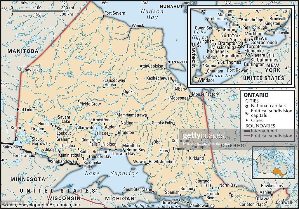 Political Map Of Ontario Canada.Political Map Of Ontario Political Map Of Ontario Canada News